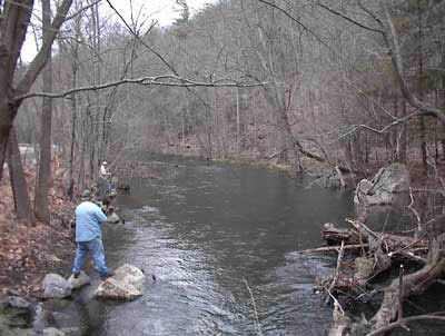 Opening day of trout fishing spring change of seasons for Trout fishing nj