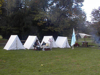 tent revolutionary war