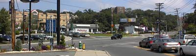 Southern end of route 23 in Verona, New Jersey