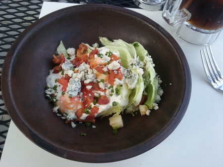 new Continental Wedge Salad